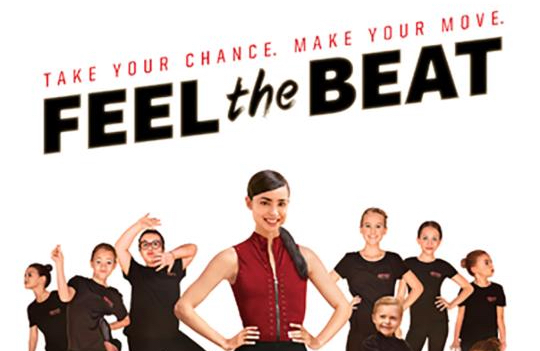 """This is the TV poster for the Netflix series """"Feel the Beat."""" (CNS photo/Netflix) See TV-REVIEW-FEEL-THE-BEAT June 23, 2020."""